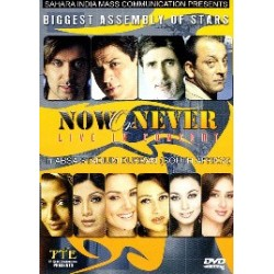 NOW OR NEVER LIVE CONCERT DVD