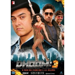 Dhoom 3 DOUBLE DVD COLLECTOR