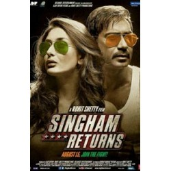 Singham Returns DVD