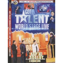 3 Khan Live + Got Talent DVD SHOW