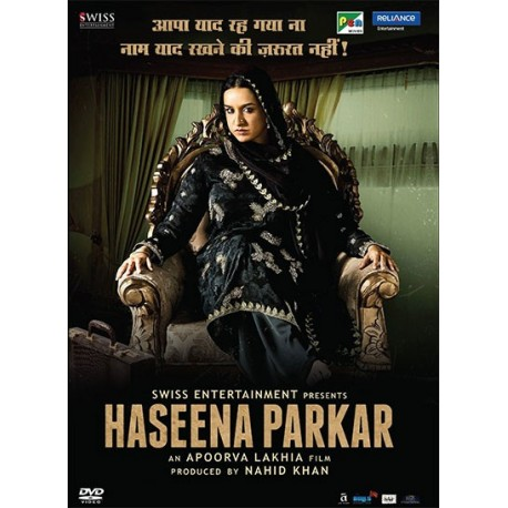 Haseena Parkar DVD Collector