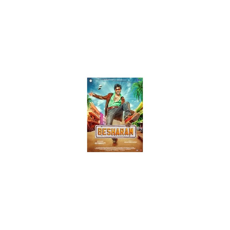 Besharam DVD