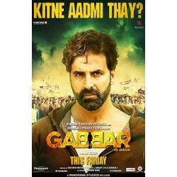 Gabbar Is Back DVD