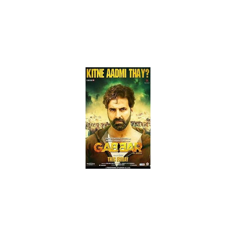 Gabbar Is Back DVD