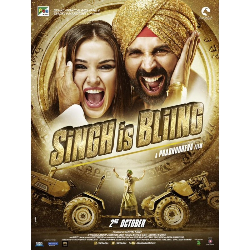 Singh Is Bling DVD