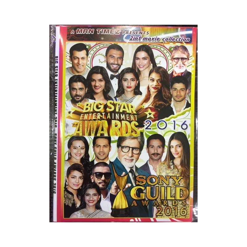Big Star Awards 2016 + Sony Guild Awards 2016 DVD