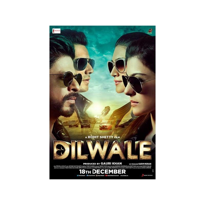 Dilwale (SRK) DVD