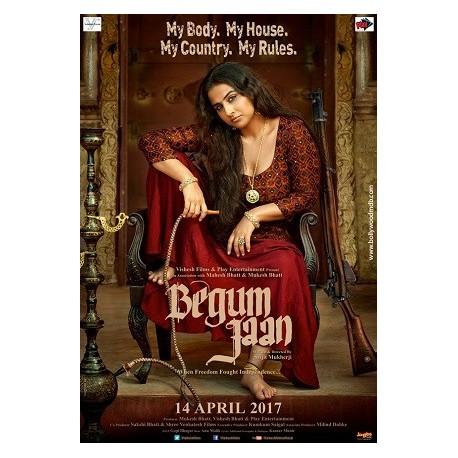 Begum Jaan DVD
