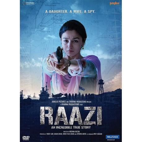 Raazi DVD