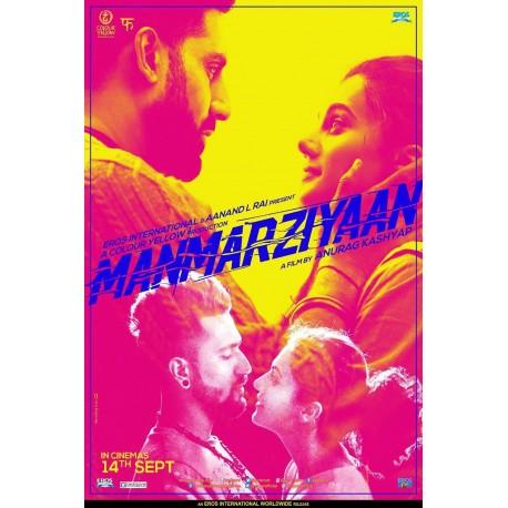 Manmarziyaan DVD