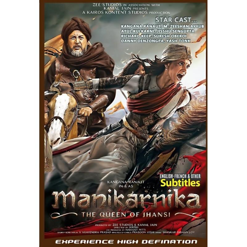 Manikarnika: The Queen of Jhansi DVD