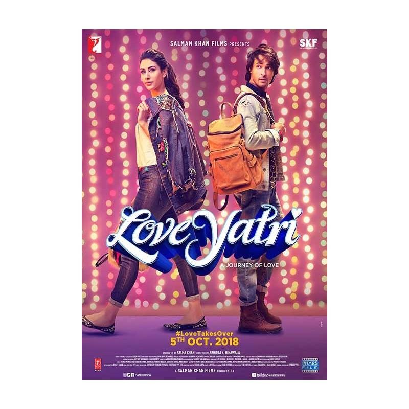Love Yatri DVD