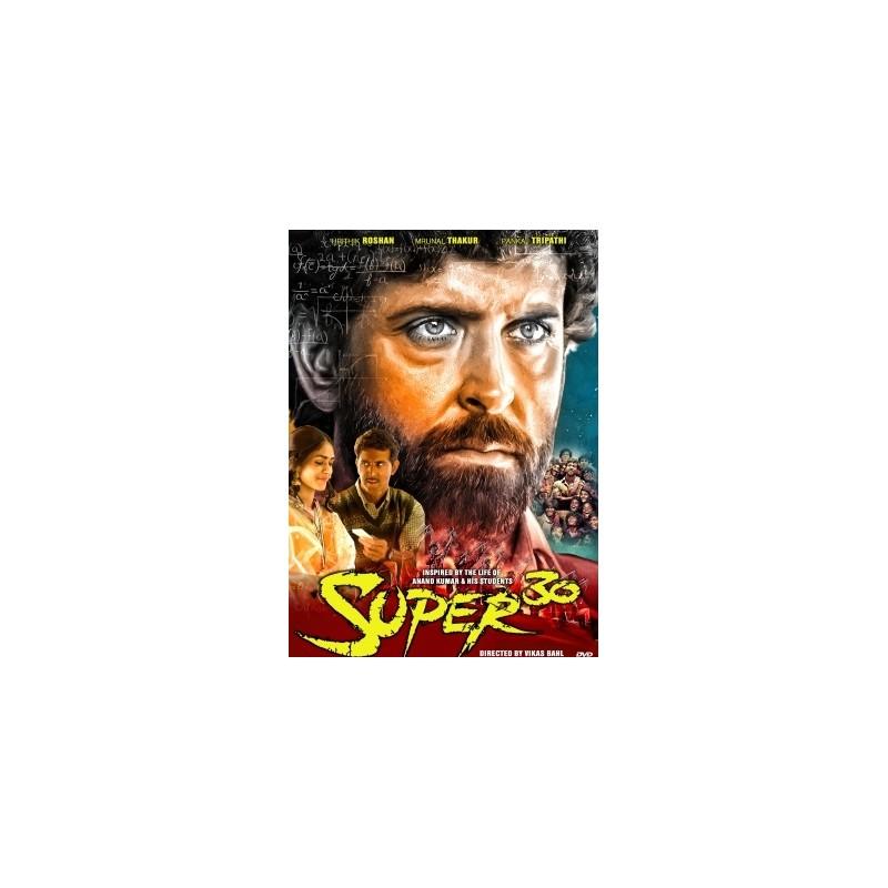 Super 30 hritik roshan DVD