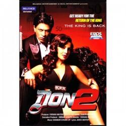 Don 2 (Shah Rukh Khan) DVD