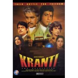 Kranti (1981)  DVD