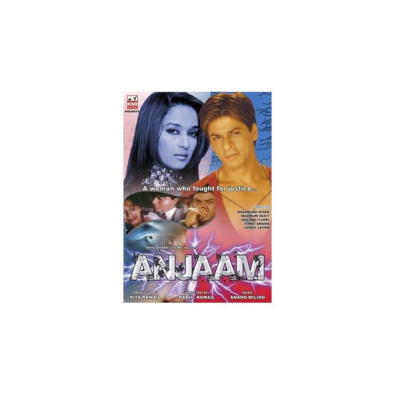 Anjaam DVD