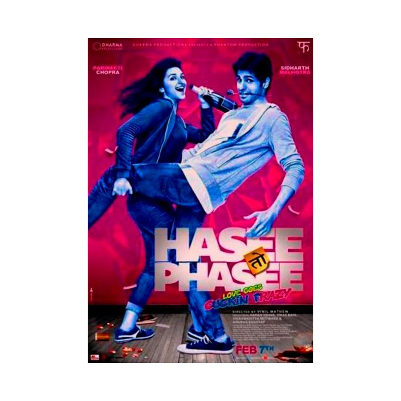 Hasee Toh Phasee DVD
